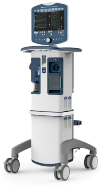 Image: The Puritan Bennett 980 Ventilator system (Photo courtesy of Covidien).