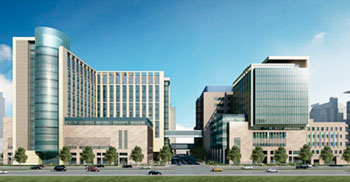 Image: Artist rendition of the Barnes-Jewish Hospital and the St. Louis Children's Hospital expansion (Photo courtesy of BJC HealthCare).