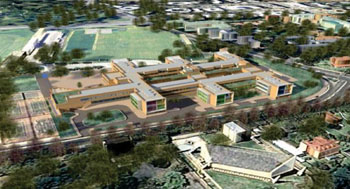 Image: Artist impression of the Nelson Mandela Children's Hospital (Photo courtesy of the NMCHT).