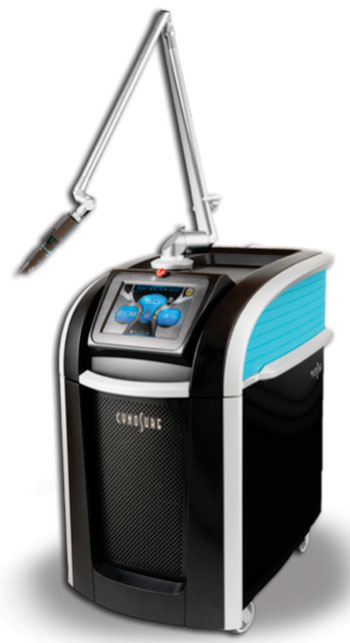 Image: The PicoSure picosecond aesthetic laser system (Photo courtesy of Cynosure).