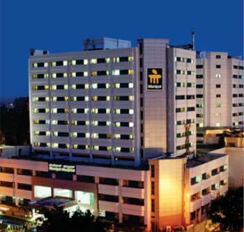 Image: Manipal Hospital in Bangalore (Bengaluru), India (Photo courtesy of Manipal Hospitals).
