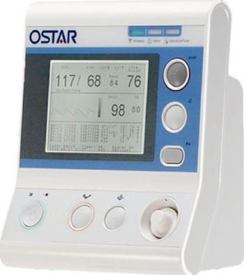 Image: The OSTAR A300 Remote telehealth vital signs patient monitoring system (Photo courtesy of OSTAR Healthcare Technology).