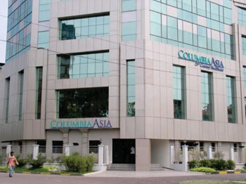 Image: The Columbia Asia hospital in Kolkata (India) (Photo courtesy of Columbia Asia).