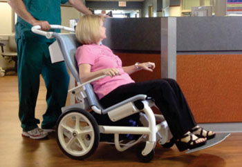 Image: The Movi patient chair (Photo courtesy of  Movi Medical).