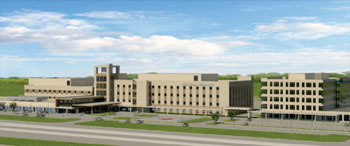 Image: Artist rendering of the new Memorial Hermann Cypress medical campus (Photo courtesy Memorial Hermann Health System).