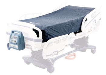 Image: The Dolpin FIS system on a hospital bed (Photo courtesy of Joerns Healthcare).