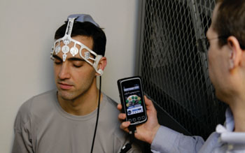 Image: The BrainScope Ahead 100 system (Photo courtesy of Brainscope).