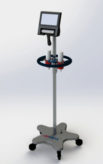 Image: The BBS Revolution automated bladder volume measurement device (Photo courtesy of dBMEDx).