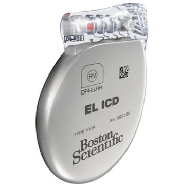 Image: The Boston Scientific EL ICD (Photo courtesy of Boston Scientific).