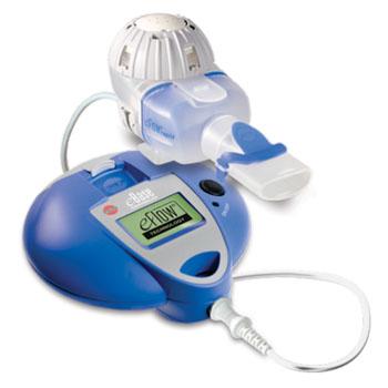 Image: The eRapid Nebulizer System with eBase (Photo courtesy of PARI Respiratory Equipment).