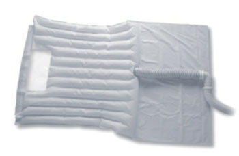 Image: A conventional Snuggle Warm blanket (Photo courtesy of Smiths Medical).