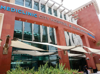 Image: Mediclinic City Hospital in Dubai (Photo courtesy of Mediclinic Middle East).