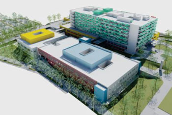 Image: Artist representation of the refurbished General Hospital Pula (Photo courtesy of General Hospital Pula).