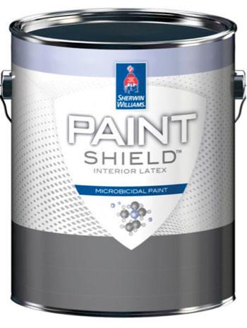 Image: Sherwin-Williams Paint Shield interior paint (Photo courtesy of Sherwin-Williams).