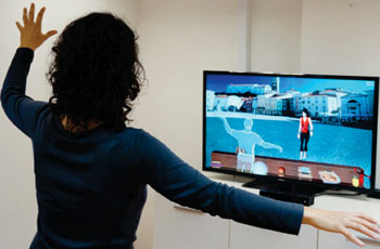 Image: Cognitive training with the Intendu Functional Brain Trainer (Photo courtesyof  Intendu).