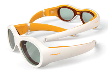 Image: Amblyz occlusion glasses (Photo courtesy of Xpand).
