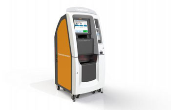 Image: The Carestream MyVue Center Self-Service Kiosk (Photo courtesy of Carestream).