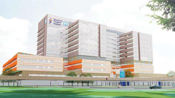 Image: A concept rendition of the Mackenzie Health Vaughan Hospital project (Photo courtesy of Zeidler Partnership Architects).