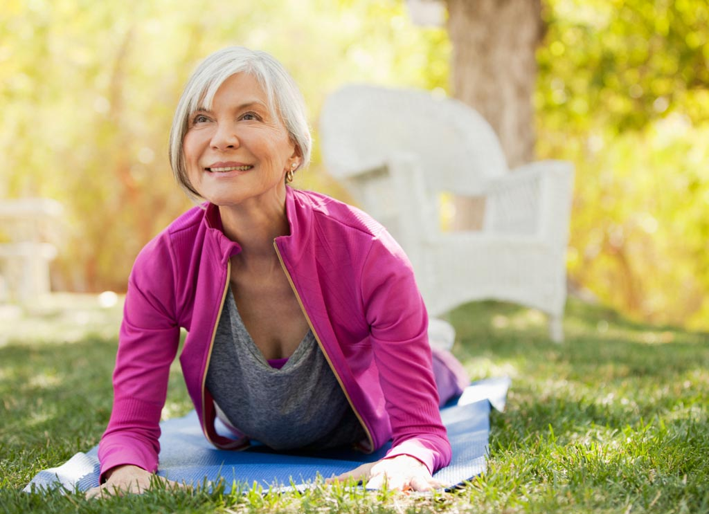 Yoga May Reduce Urinary Incontinence in Older Women