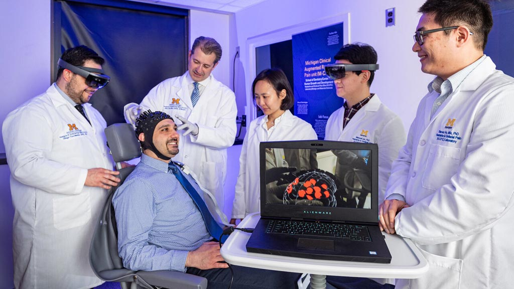 Augmented Reality Perceives Real-Time Pain of Patients